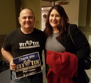 David attended Phil Vassar and Lonestar: the not So Silent Night Tour - Country on Dec 16th 2018 via VetTix