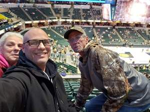 christopher attended Indiana Pacers vs. Washington Wizards - NBA on Dec 10th 2018 via VetTix
