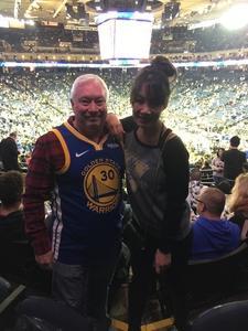 John attended Golden State Warriors vs. Minnesota Timberwolves - NBA on Dec 10th 2018 via VetTix