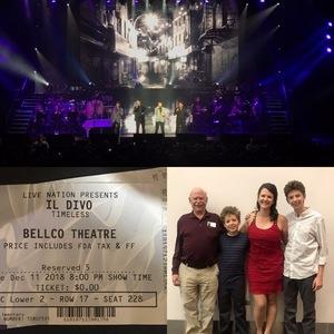 Aspen attended IL Divo Timeless Tour on Dec 11th 2018 via VetTix
