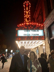 John Gray attended Chris Tomlin Christmas: Christmas Songs of Worship on Dec 13th 2018 via VetTix