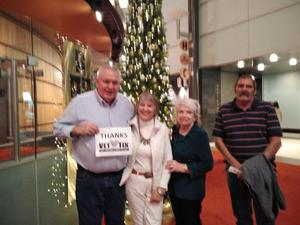 James Conway attended A Christmas Carol - the Musical on Dec 13th 2018 via VetTix
