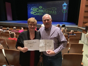 Charles attended A Christmas Carol - the Musical on Dec 14th 2018 via VetTix