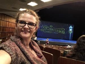 Polly attended A Christmas Carol - the Musical on Dec 15th 2018 via VetTix