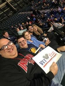 Michael attended Indiana Pacers vs. Milwaukee Bucks - NBA on Dec 12th 2018 via VetTix
