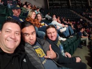 Stephen attended Indiana Pacers vs. Milwaukee Bucks - NBA on Dec 12th 2018 via VetTix