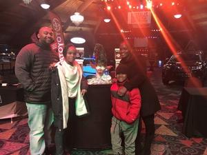 Tenisha attended Cirque Dreams Holidaze (touring) - Circus on Dec 14th 2018 via VetTix