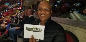 Anthony attended Cleveland Cavaliers vs. New York Knicks - NBA on Dec 12th 2018 via VetTix