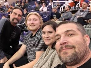 Tina attended Phoenix Suns vs. Dallas Mavericks - NBA on Dec 13th 2018 via VetTix