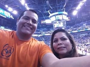 Janice attended Phoenix Suns vs. Dallas Mavericks - NBA on Dec 13th 2018 via VetTix