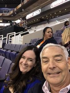 Jack attended Phoenix Suns vs. Dallas Mavericks - NBA on Dec 13th 2018 via VetTix
