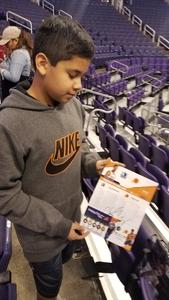 abel attended Phoenix Suns vs. Dallas Mavericks - NBA on Dec 13th 2018 via VetTix