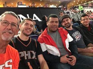 Nathan attended Phoenix Suns vs. Dallas Mavericks - NBA on Dec 13th 2018 via VetTix