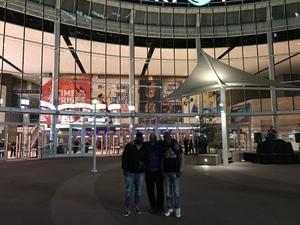 Harvey attended Phoenix Suns vs. Dallas Mavericks - NBA on Dec 13th 2018 via VetTix