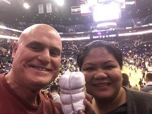 Tibor attended Phoenix Suns vs. Dallas Mavericks - NBA on Dec 13th 2018 via VetTix