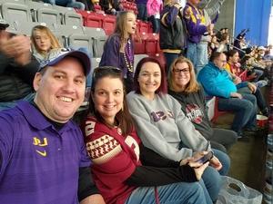 Derek attended Playstation Fiesta Bowl - Louisiana State University vs. University of Central Florida on Jan 1st 2019 via VetTix