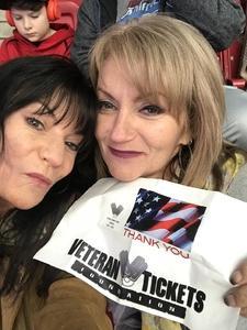 Tracy attended Playstation Fiesta Bowl - Louisiana State University vs. University of Central Florida on Jan 1st 2019 via VetTix