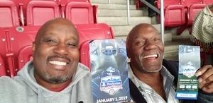 richard attended Playstation Fiesta Bowl - Louisiana State University vs. University of Central Florida on Jan 1st 2019 via VetTix