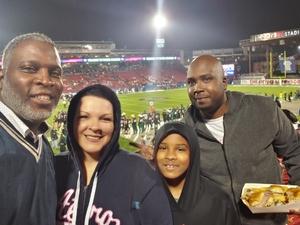 The Clinton Family attended Dxl Frisco Bowl - San Diego State University vs. Ohio University on Dec 19th 2018 via VetTix