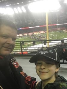 ted attended Cheez-it Bowl - California Golden Bears vs. TCU Horned Frogs on Dec 26th 2018 via VetTix