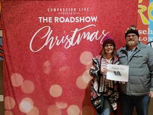 David O attended The Roadshow Christmas Tour - Matthew West - Matt Maher - Building 429 - Plumb - Josh Wilson and Leanna Crawford on Dec 13th 2018 via VetTix