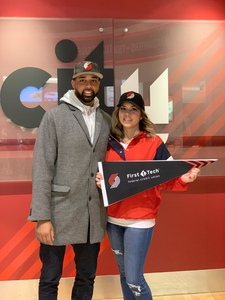 BRITTNIE attended Portland Trail Blazers vs. Cleveland Cavaliers - NBA on Jan 16th 2019 via VetTix