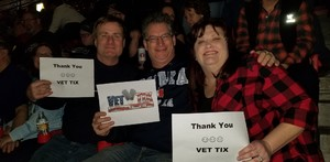 Richard attended Red Rock Productions Presents: STYX With Special Guest Anne Wilson of Heart Resch Center Complex 2018-2019 on Dec 29th 2018 via VetTix