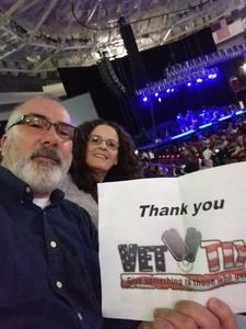 Steve attended Red Rock Productions Presents: STYX With Special Guest Anne Wilson of Heart Resch Center Complex 2018-2019 on Dec 29th 2018 via VetTix