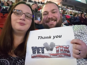 Travis attended Red Rock Productions Presents: STYX With Special Guest Anne Wilson of Heart Resch Center Complex 2018-2019 on Dec 29th 2018 via VetTix