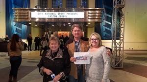 Richard attended Easton Corbin - a Girl Like You Tour on Dec 16th 2018 via VetTix