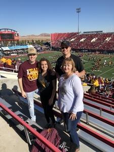 Richard attended Mitsubishi Motors Las Vegas Bowl - Arizona State vs. Fresno State on Dec 15th 2018 via VetTix