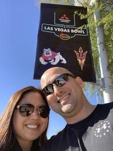 Charles attended Mitsubishi Motors Las Vegas Bowl - Arizona State vs. Fresno State on Dec 15th 2018 via VetTix
