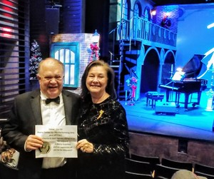 David attended A Merry Gishmas: A Holiday Celebration with James D. Gish on Dec 18th 2018 via VetTix