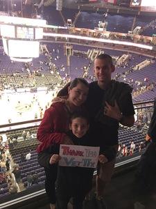 Brian attended Phoenix Suns vs. Minnesota Timberwolves - NBA on Dec 15th 2018 via VetTix