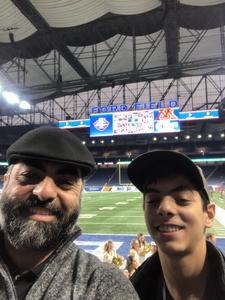 Christopher attended Quick Lane Bowl: Minnesota vs. Georgia Tech - NCAA on Dec 26th 2018 via VetTix