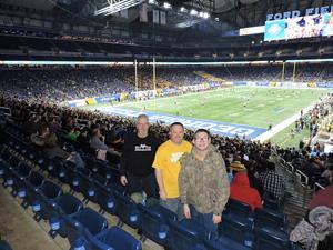 Terry attended Quick Lane Bowl: Minnesota vs. Georgia Tech - NCAA on Dec 26th 2018 via VetTix