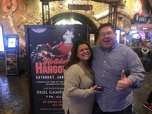 Scott attended Holiday Hangover With the Dan Band - Pop on Jan 5th 2019 via VetTix