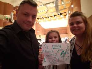 The Van Wormer Family attended Turangalila Symphonie - Presented by the Baltimore Symphony Orchestra on Jan 10th 2019 via VetTix