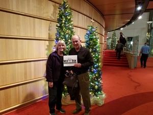 James attended A Christmas Carol on Dec 20th 2018 via VetTix