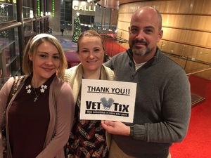 Paul attended A Christmas Carol on Dec 20th 2018 via VetTix