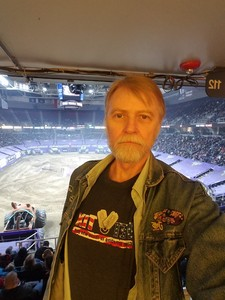 Paul E Kelly Jr DCC (SW) USN Ret attended Monster Jam on Jan 12th 2019 via VetTix