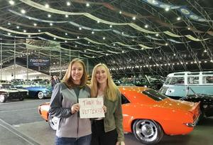 Jennifer attended 2019 Barrett Jackson - Collector Car Auction - 1 Ticket is Good for 2 People on Jan 13th 2019 via VetTix