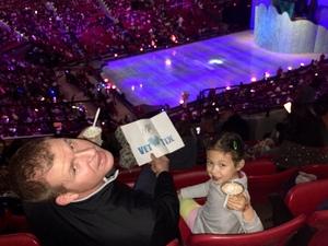 Eric attended Disney on Ice: Dare to Dream on Jan 10th 2019 via VetTix