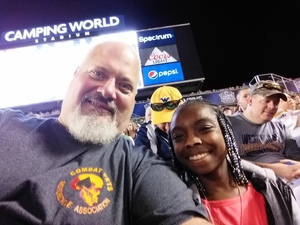 Albert attended Camping World Bowl - Syracuse vs. West Virginia on Dec 28th 2018 via VetTix