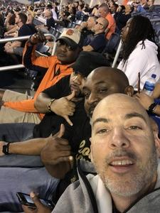 Martin attended Camping World Bowl - Syracuse vs. West Virginia on Dec 28th 2018 via VetTix