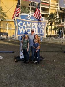 Darren attended Camping World Bowl - Syracuse vs. West Virginia on Dec 28th 2018 via VetTix