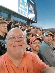 Carl attended Camping World Bowl - Syracuse vs. West Virginia on Dec 28th 2018 via VetTix