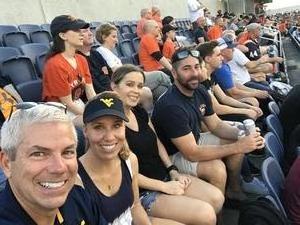 Thomas attended Camping World Bowl - Syracuse vs. West Virginia on Dec 28th 2018 via VetTix
