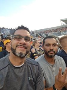 KEVIN attended Camping World Bowl - Syracuse vs. West Virginia on Dec 28th 2018 via VetTix