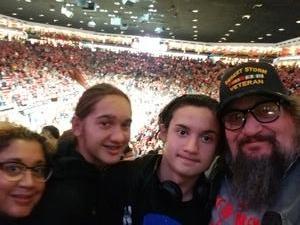 Arthur attended University of New Mexico vs. Nevada - NCAA Men's Basketball on Jan 5th 2019 via VetTix